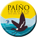 Paíño europeo (ave do ano 2007)