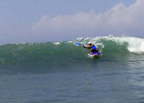 leanne surfing