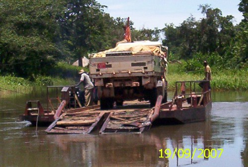 CAR river crossing - 2
