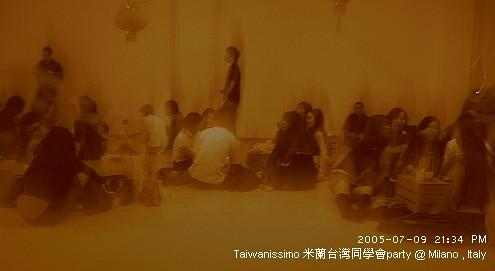 Taiwanissimo 米蘭台灣同學會party @ Milano , Italy