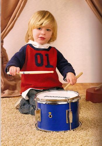 Garage Band Tee - Boho Baby Knits