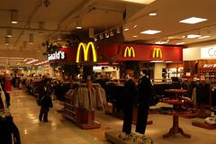 MacDonalds inside Macy's