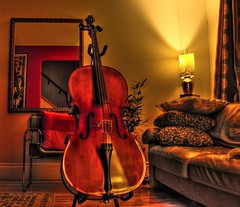 Home is where the cello is (wemidji) Tags: home topf25 topf50 contest cello topf100 hdr themoulinrouge 3xp photomatix supershot 3000v120f vision1000 visiongroup hdrenfrancais infinestyle cotcbestof2007 world100f scoremhdr47 scoremefast81 gmr455 hdraward obq gozwc vision100 vision10000 photoartbloggroup goldenmasterpiece flickraward absoluterouge