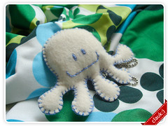 Polvo (clauk :)) Tags: sewing craft felt octopus feltro pingentedefeltro