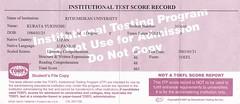 TOEFL(ITP)463