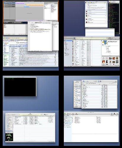 My Mac Desktops