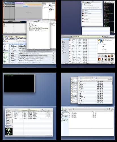 My Mac Desktops