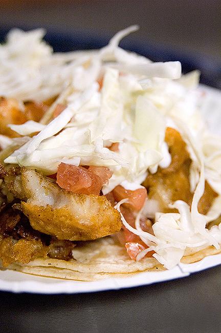 El Siete Mares Fish Taco