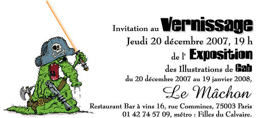 Invitation Vernissage Gab