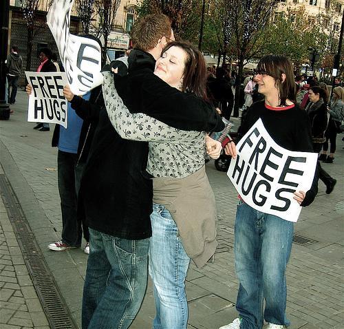Free Hugs Campaign International England