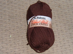 Patons - Merino; Chestnut Brown