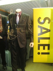 Suit on sale, in Lappeenranta by aNantaB on Flickr!