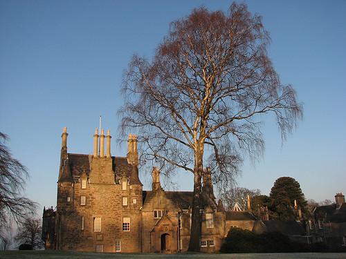 Lauriston Castle in Winter time