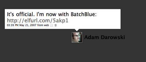 Landmark Tweets: Now with BatchBlue