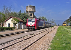 Adtranz 220-033 / ICE-51 (Dimitris G.) Tags: ice station train hellas greece ose intercityexpress    amfiklia