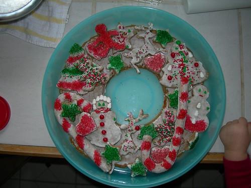 lebkuchen wreath