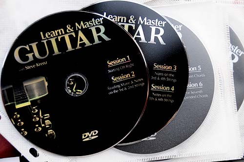 Learn and Master Guitar course DVDs