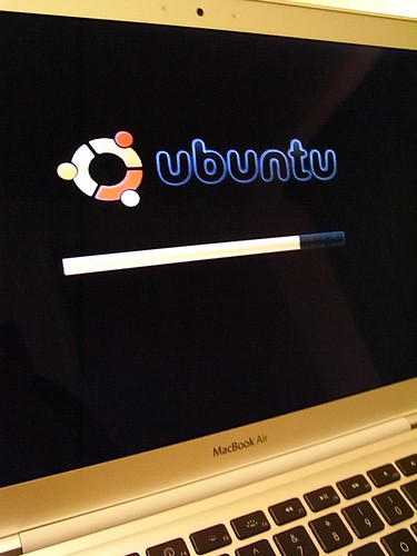 Ubuntu 8.04a4 on MacBook Air