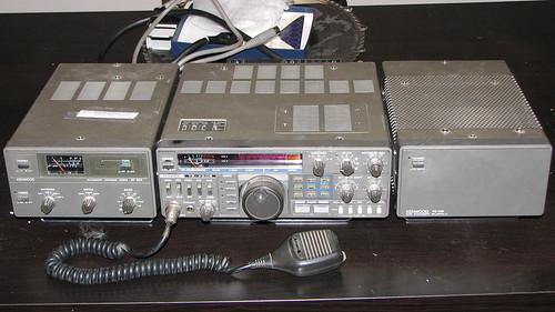 Kenwood TS-430 Amateur Radio Setup