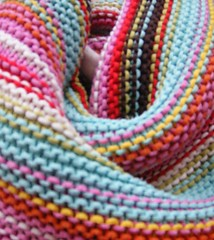 Knitty Pretty (Joanna Brookes) Tags: pink blue red orange brown white green yellow lemon knitting turquoise knit multicoloured blanket lime