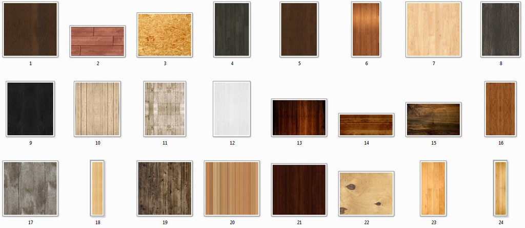 Seamless Wood Backgrounds
