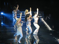 Spice Girls live in Montreal Jan 31st 2008