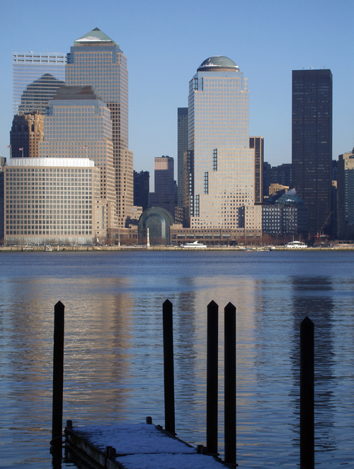World Financial Center, Hudson River, Manhattan