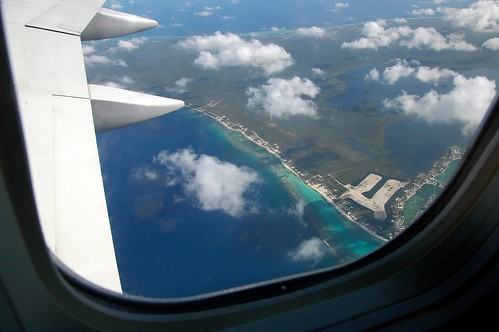 Grand Cayman from the air