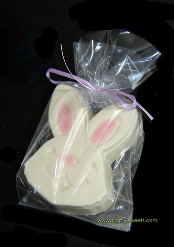 Bunny white chocolate box
