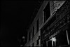 have no fear (Satirenoir) Tags: brick empty vacant barbedwire arlingtonva abandonedbuilding utata:project=nocturnal2
