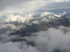 La Paz vue avion