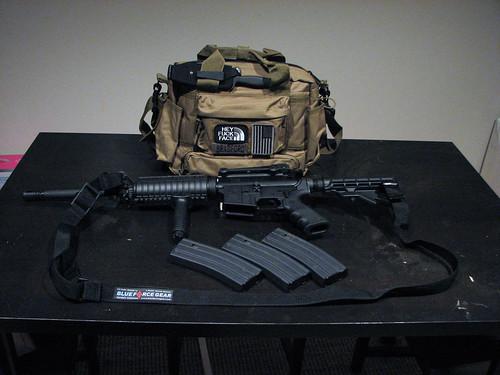 AR15 On Table