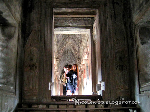 posing at angkor wat 2