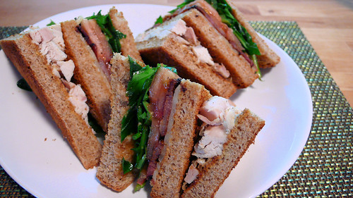 Blork's Italian Club Sandwich on Flickr