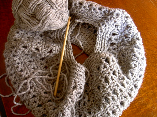 Slouchy Beret # 2 - WIP