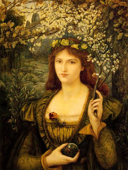 Marie Spartali Stillman, Madonna Pietra degli Scrovigni