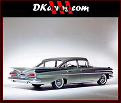 1959 Chevrolet Bel Air (1919) Four Door Sedan (promotional material GM Corporation) - USA (Dkarros.com) Tags: 1959 chevrolet sedan old car usa belair 1959chevroletbelairsedan
