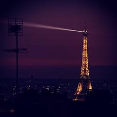 Tour Eiffel (abory03) Tags: tour eiffel paris nuit olympus em1 omd antenne spot lumière tower city night light