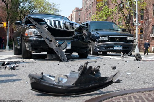 Car Accident in Jackson Heights