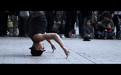 One Finger Times 2 (AdamGalley) Tags: street paris france dance power muscle strength breakdance cinematic stacked twofingers