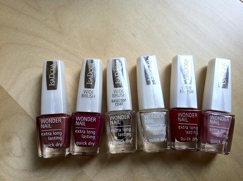 Inkasserar födelsedagspresent: fika & nagellack