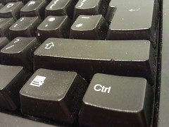 the right Ctrl button
