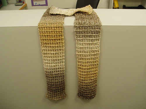 Chunky Charity scarf v. 1