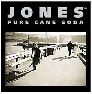 Jones soda label