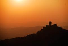 Rocca dei Vescovi (vibordi) Tags: nikon tramonto d200 paesaggio vicenza