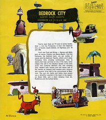 Flintstones Bedrock City Brochure