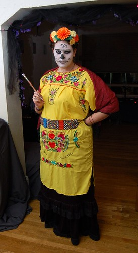 Dead Frida Kahlo Costume by nadja.robot