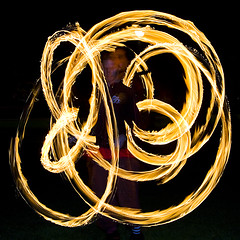 Fireball (Kenny Maths) Tags: scotland edinburgh beltane themeadows firespinner kennymathieson mywinners