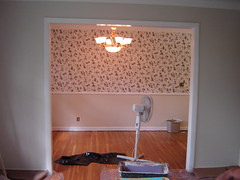 View of Dining from Living (BEFORE)