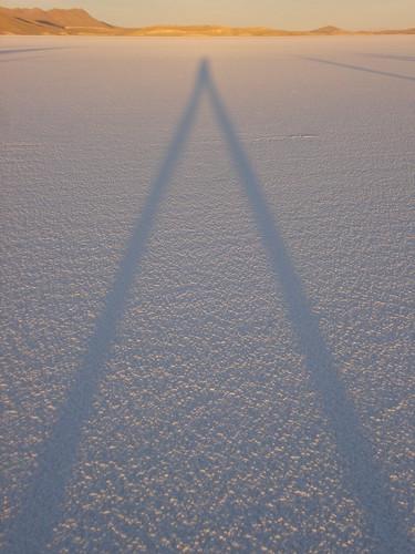 Sombra al amanecer